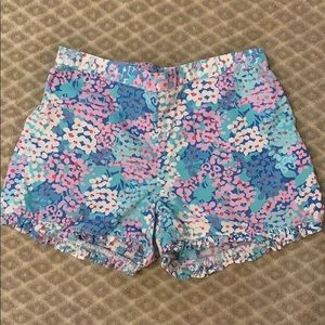 LILLY PULITZER- Girl's Floral Print Shorts